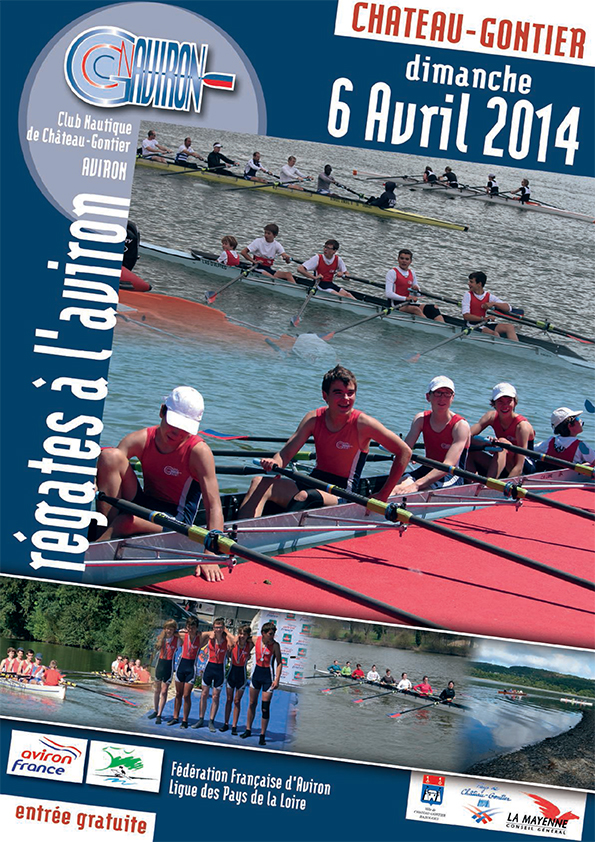 couverture programme aviron